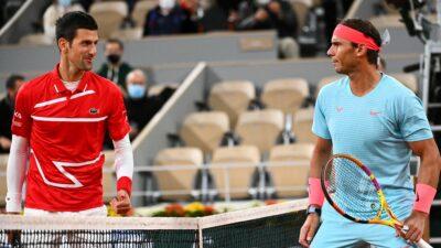 Rafa Nadal Novak Djokovic