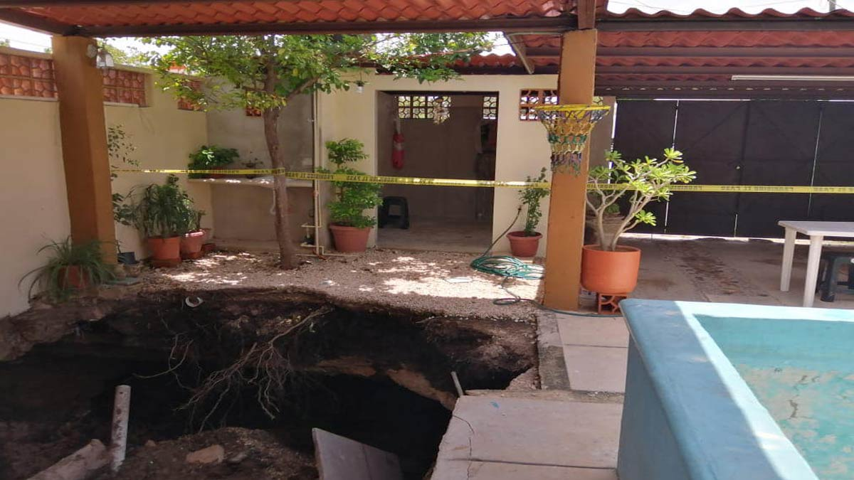 Socavones en México: hubo varios en una semana en diversos estados