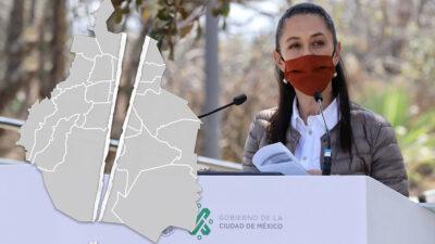 """Elecciones en la CDMX """"dividen"""" en dos a la capital"""