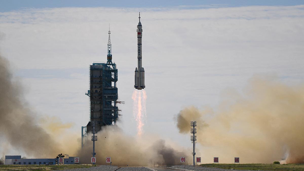 china astronautas