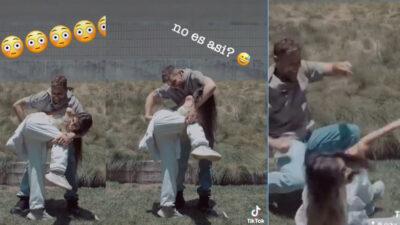 Ricky Martin falla en recrear video de baile viral; ve divertido momento