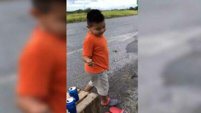 Tamaulipas: niño prefiere comprar naranjas que robarlas de tráiler volcado
