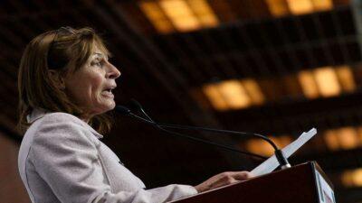 Tatiana Clouthier promueve obras prioritarias en Canadá