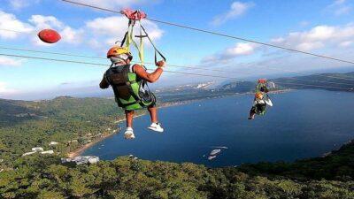 Acapulco, Guerrero, tiene la tirolesa sobre el mar más grande del mundo