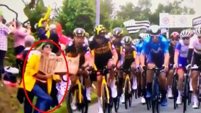 Tour de Francia caída