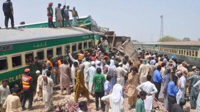 Tren de pasajeros Pakistán