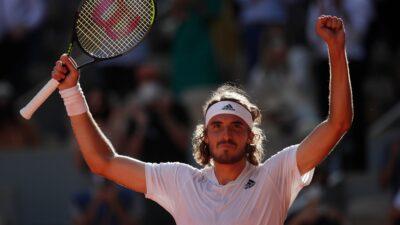 Tsitsipas Zverev Roland Garros
