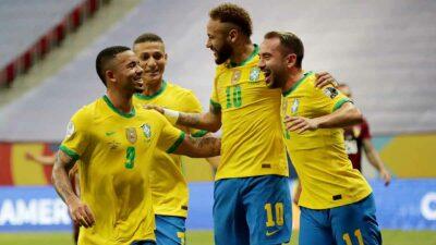 Brasil derrota a Venezuela