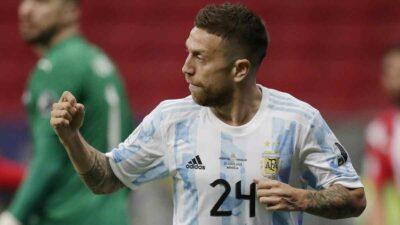Argentina califica a cuartos de la Copa América
