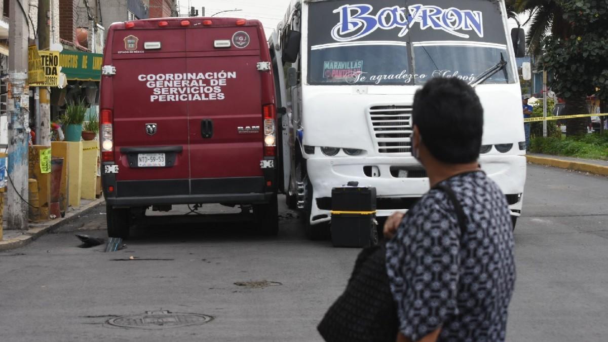 En Xalapa, Veracruz, captan a camión que atropelló a adulto mayor