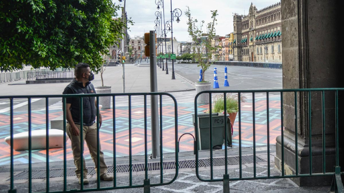 Kamala Harris: seguridad de EU supervisa alrededores de Palacio Nacional