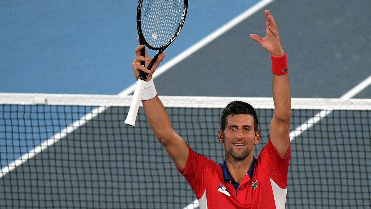 Tokio 2020 tiene otro semifinalista: Djokovic venció a tenista japonés Kei Nishikori