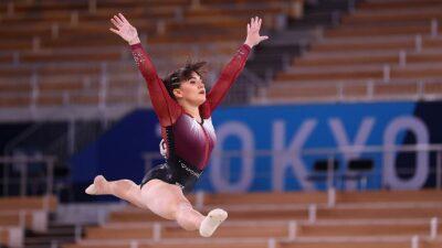 Alexa Moreno pasa a la final de salto de caballo de Tokio 2020