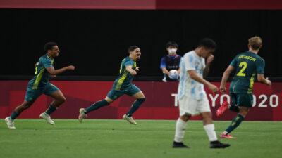 Australia sorprende y le gana a Argentina 2-0 en Tokio 2020