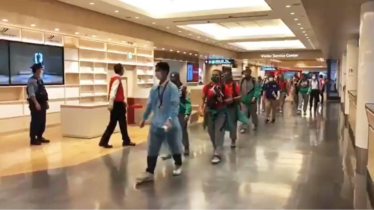 ¡Ya llegaron! Atletas mexicanos arriban a Japón para Olímpicos Tokio 2020