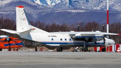 En Rusia, avión se accidenta en la península de Kamchatka