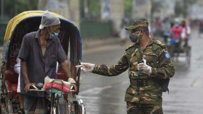 Bangladés registra ola de contagios COVID-19; Khulna, la más afectada