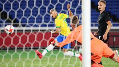 ¡Histórico! Brasil golea a Alemania en los Juegos Tokio 2020