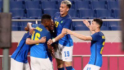 Brasil espera rival del Grupo C, conformado por España, Argentina, Egipto y Australia. Foto: AFP