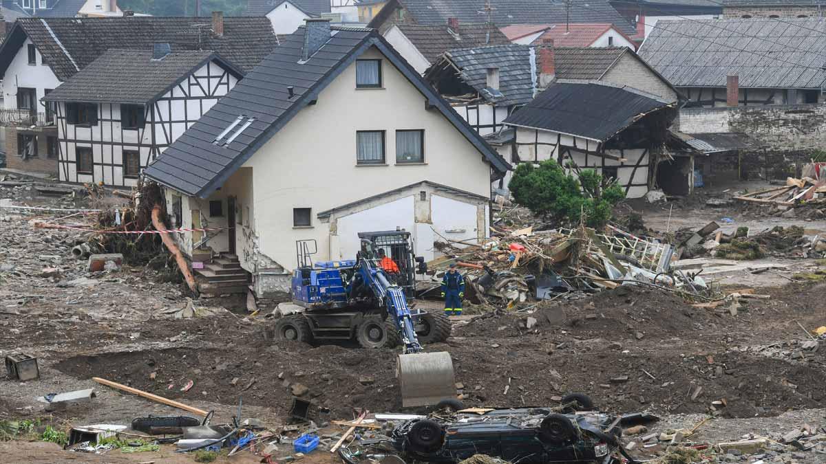 Europa afectada por lluvias: Alemania y Holanda dan días de luto