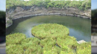 Tamaulipas tiene el cenote más profundo de México; NASA lo usó