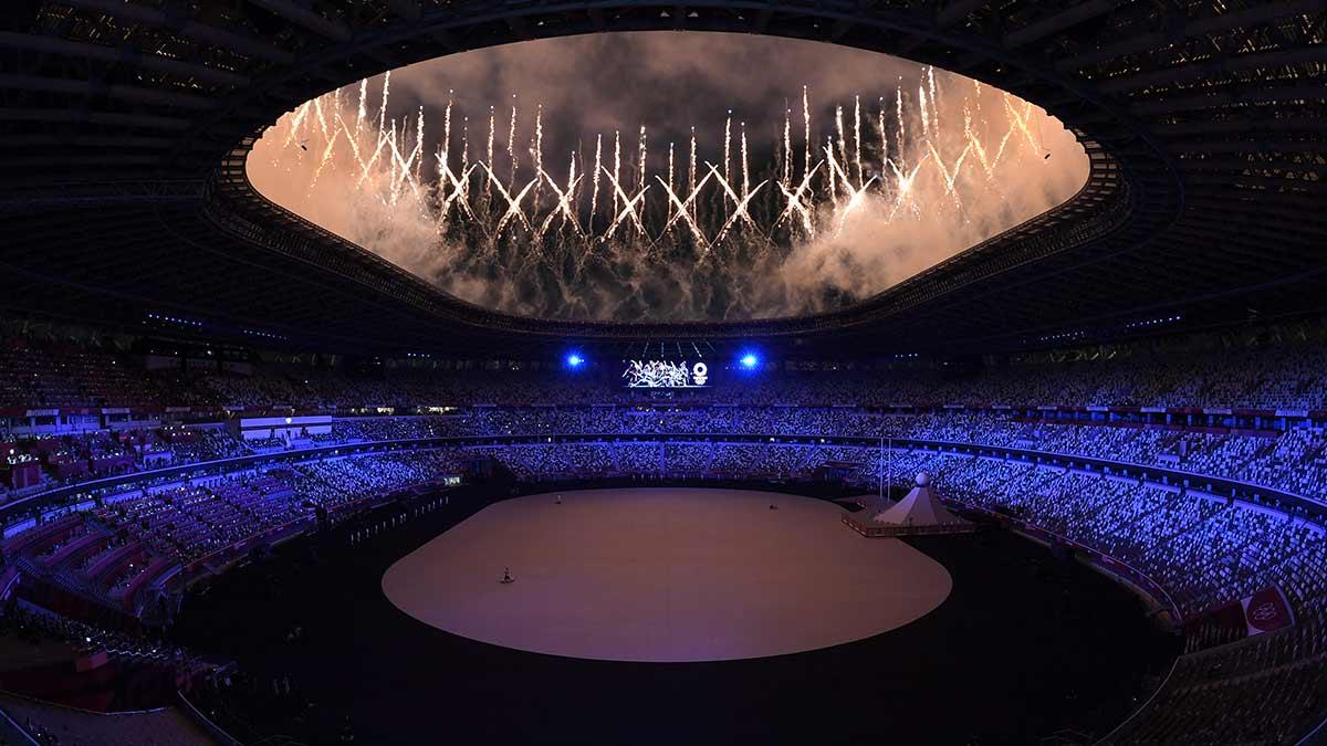 inauguración de la ceremonia de Tokio 2020 juegos olímpicos