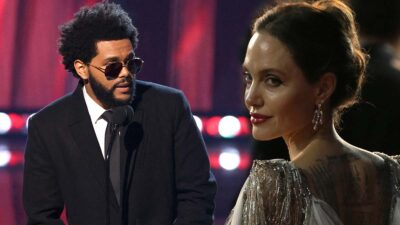 Angelina Jolie y The Weeknd son captados en un restaurante