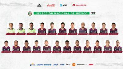 Convocados Copa Oro Mexico