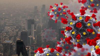 bacterias en el aire