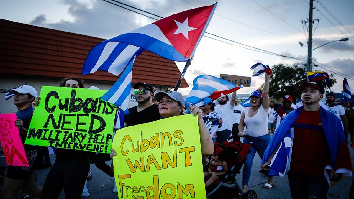 Camila Acosta es liberada tras ser detenida por grabar videos en protestas de Cuba