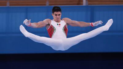 Daniel Corral, gimnasta mexicano, fuera de finales por aparatos en Tokio 2020