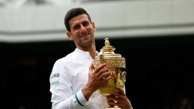 Djokovic 20 Grand Slam