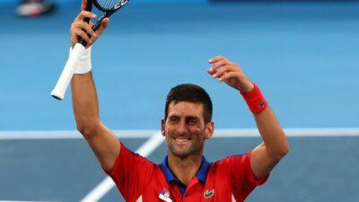 Djokovic pasa a octavos y jugará contra Davidovich: Tokio 2020