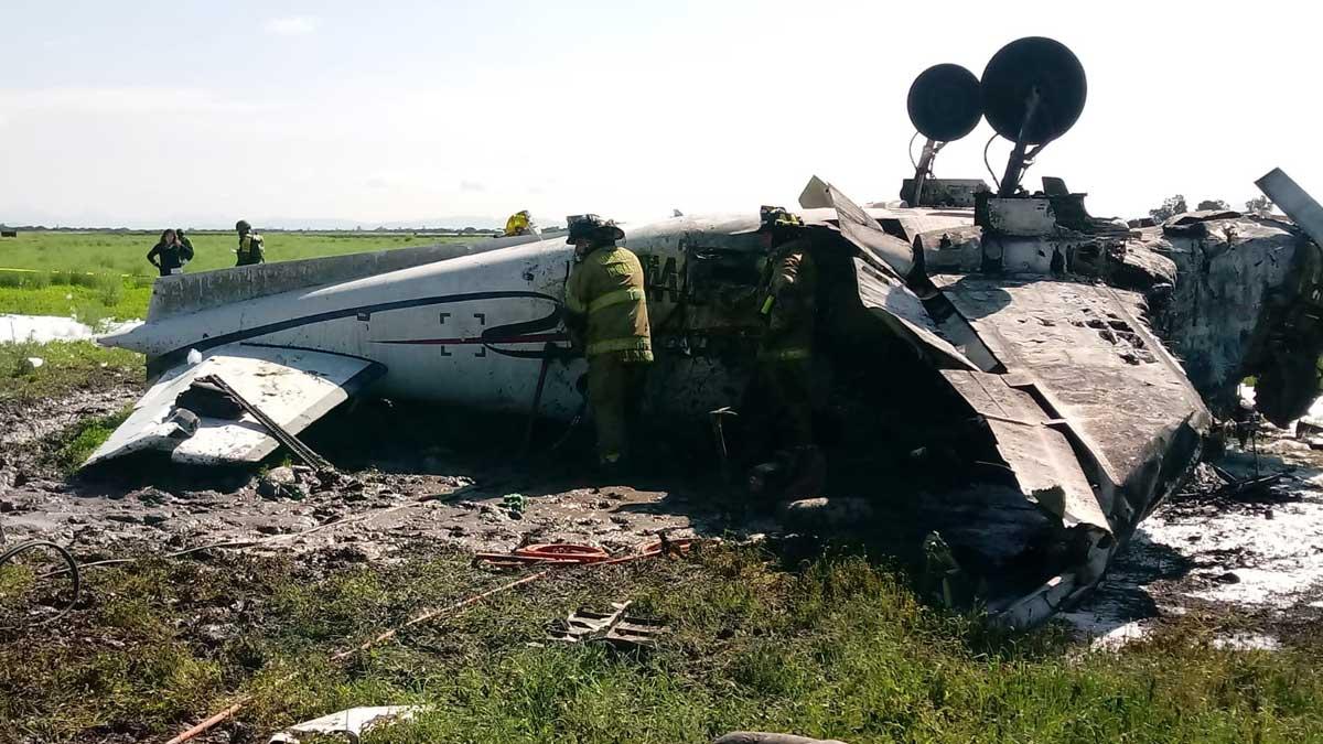 En Durango reportan caída de aeronave; hay 6 heridos y un muerto