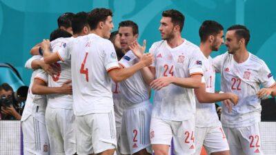 España Vence A Suiza
