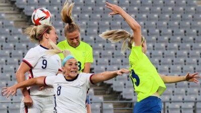 Suecia humilla a EU y Holanda en fútbol femenino en Tokio 2020