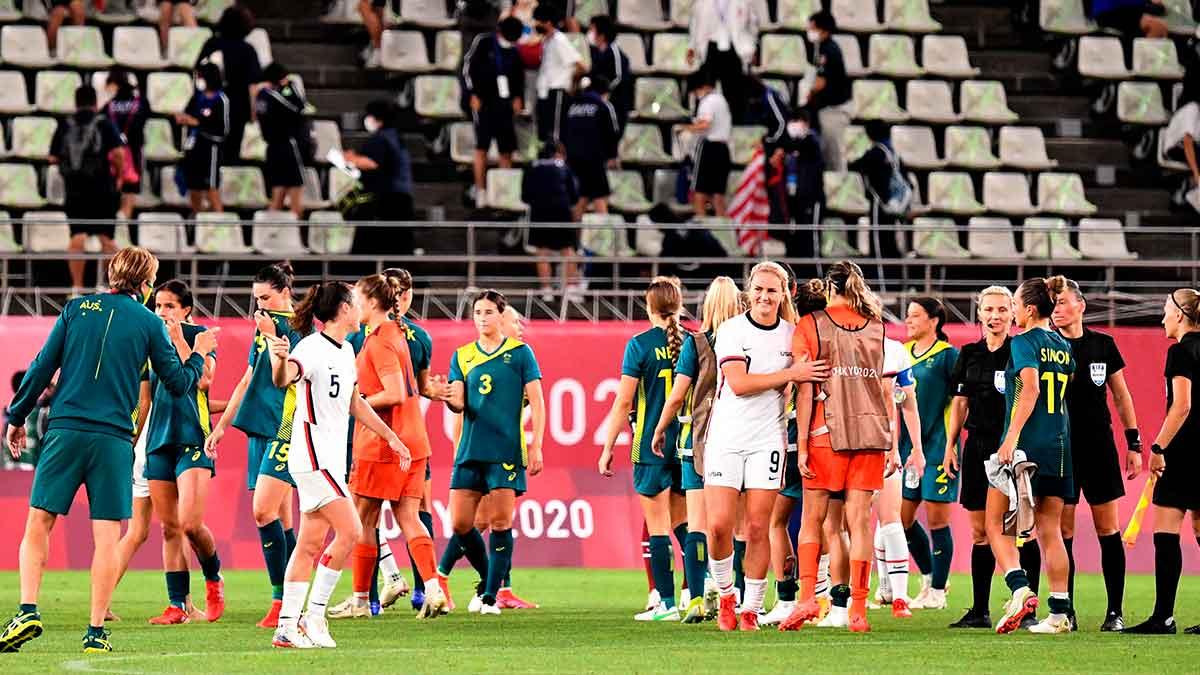 Tokio 2020: EU y Australia pactan empate en fútbol femenil