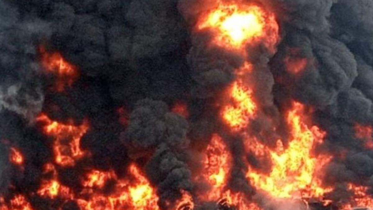 Inundaciones en China: captan explosión de una fábrica de aluminio en Henan