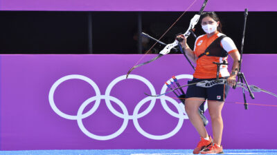 Gabriela Bayardo, mexicana que ganó plata con Países Bajos en Tokio 2020
