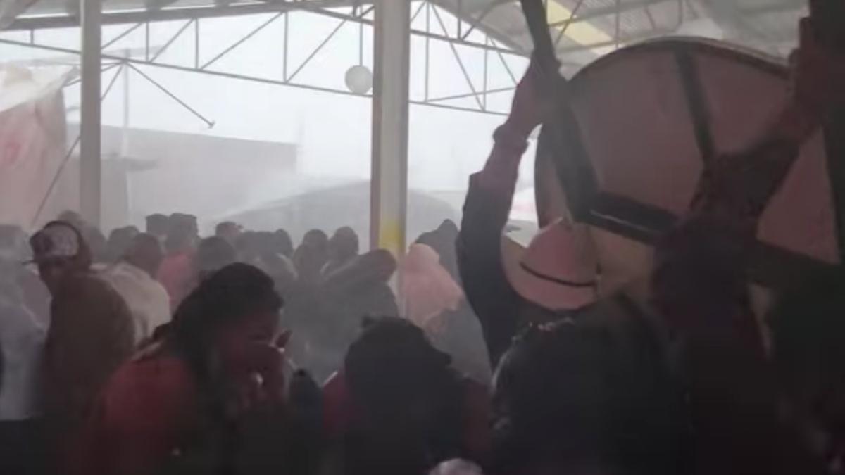 Guanajuato: Granizada azota Irapuato y casi arruina boda y XV años