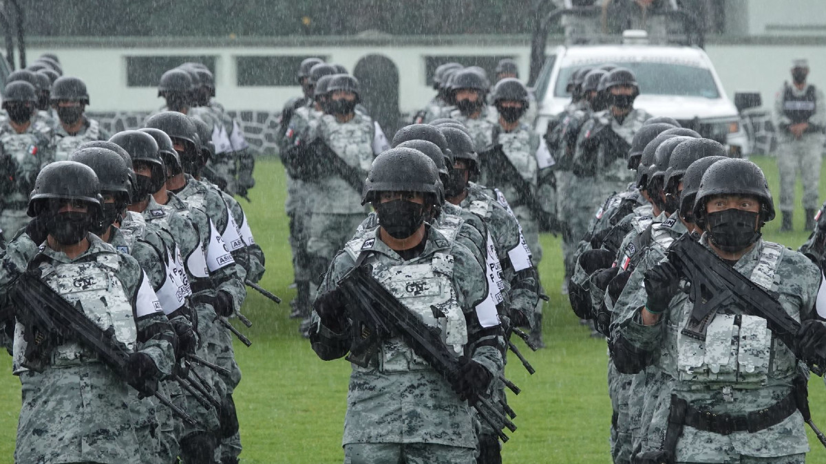 Guardia Nacional: temas que componen el curso de nuevo ingreso