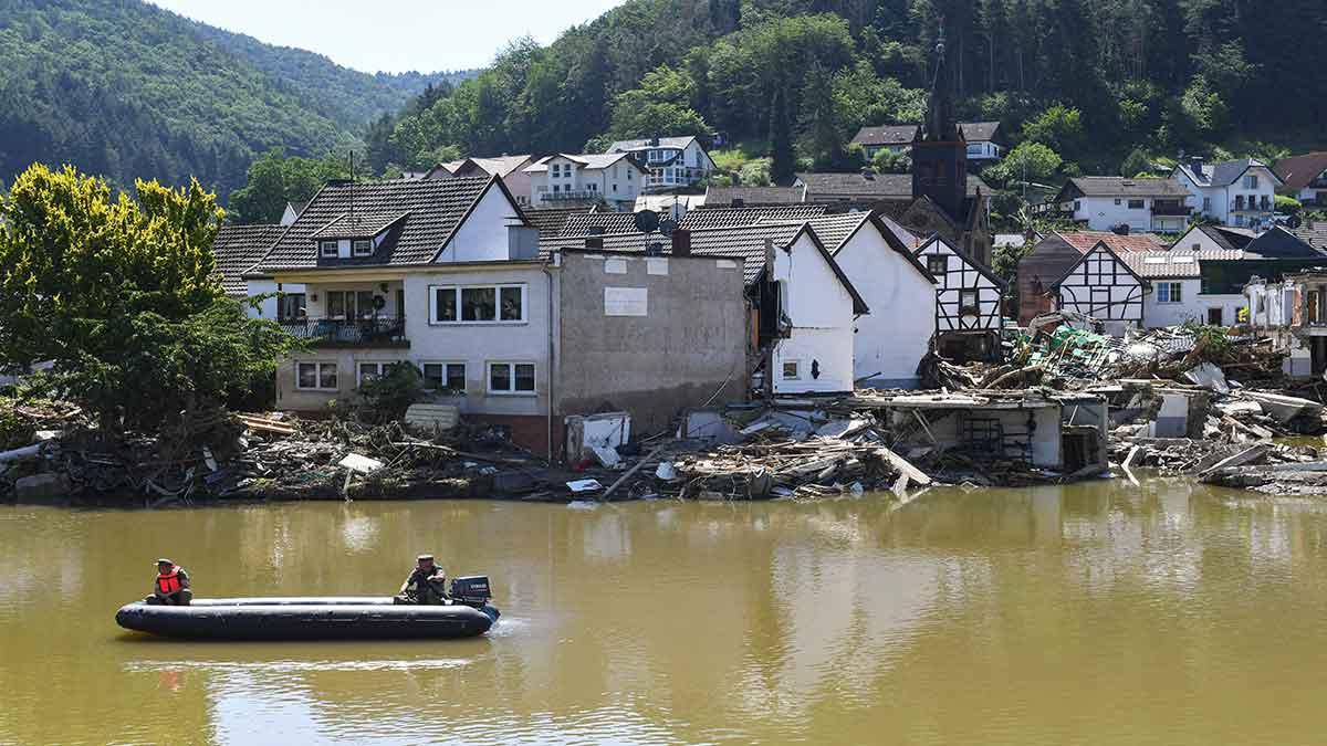 Inundaciones en Alemania costarán más de 5 mil mdd a compañías de seguros