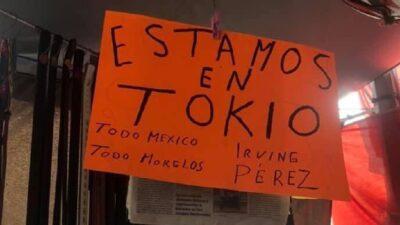 Irving Pérez: Abuelo decora su puesto en Morelos para apoyarlo