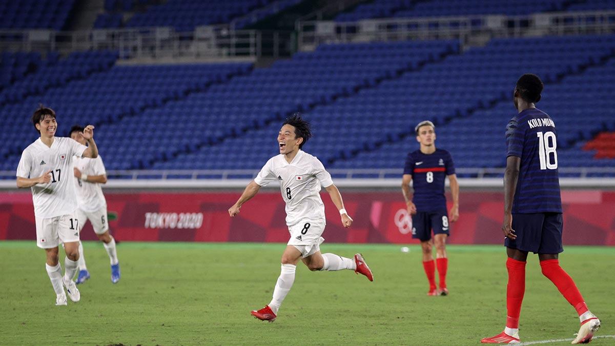¡Adiós Gignac! Francia queda fuera de Tokio 2020 tras ser goleado por Japón