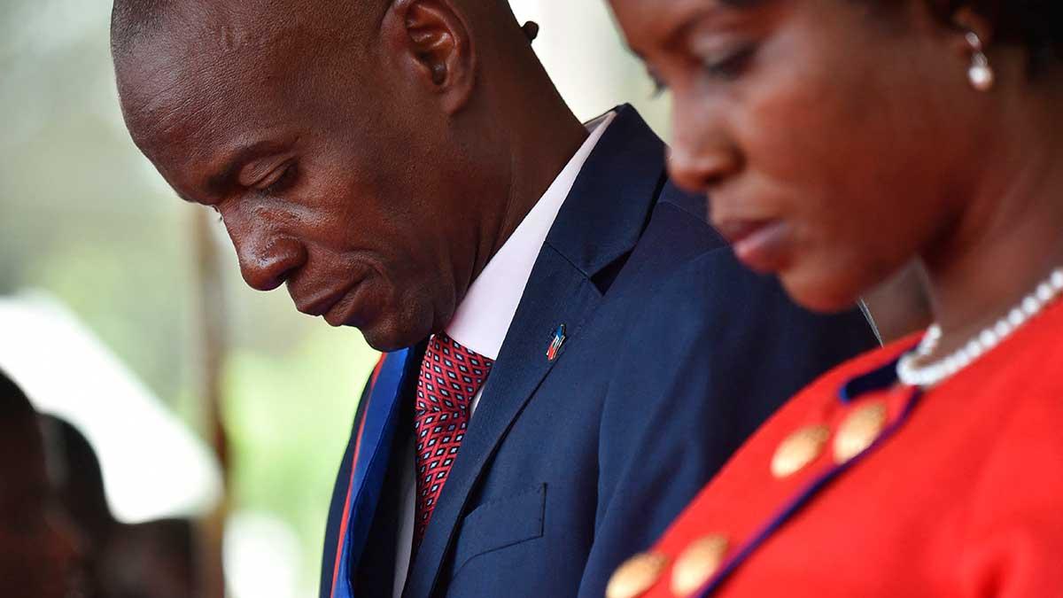 """En Haití se declaró """"estado de sitio"""" por 15 días, tras el asesinato del presidente, Jovenel Moise. Foto: AFP"""