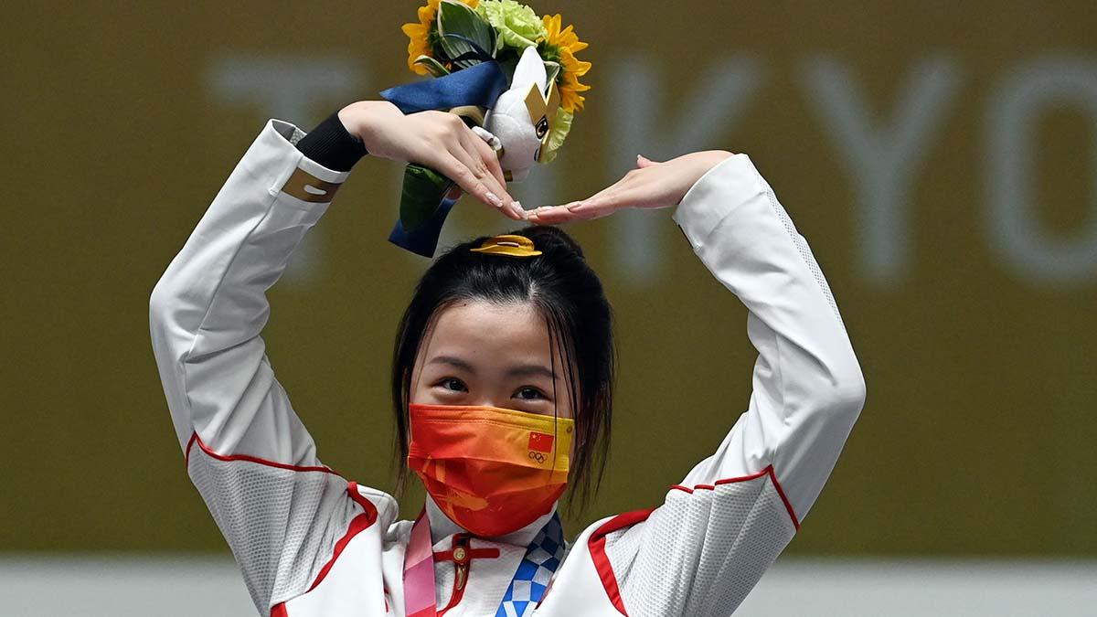 La china Qian Yang primera medalla oro Tokio 2020