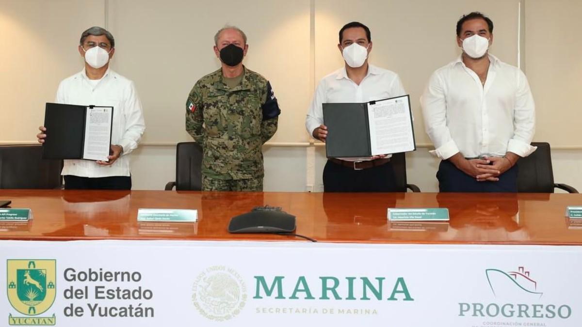Mauricio Vila: Histórica ampliación en Puerto de Altura de Progreso