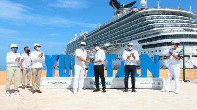 Mauricio Vila: Reinician cruceros, habrá empleos y derrama económica
