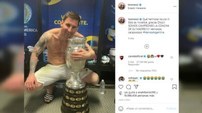 Messi Récord Instagram