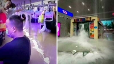China lluvias Metro